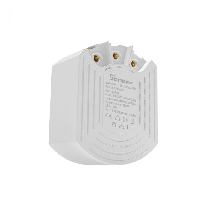 sonoff d1 back qisystems
