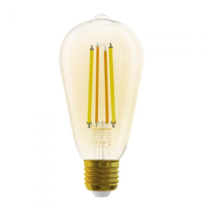 sonoff st64 filament bulb qisystems